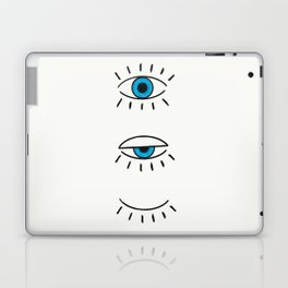 Summer Evil Eyes Laptop & iPad Skin