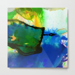 Abstract Bliss 4I by Kathy Morton Stanion Metal Print