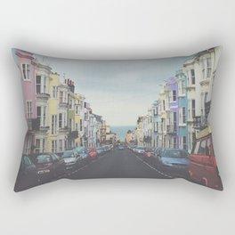 Brighton Houses Rectangular Pillow