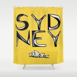 Sydney Love Shower Curtain