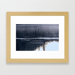 Mists on the Water Framed Art Print