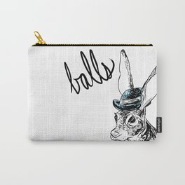 Dirty Dishes-- Hare Carry-All Pouch