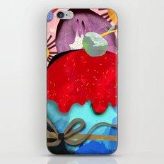 Anemones & Ranunculus Cupcake iPhone & iPod Skin