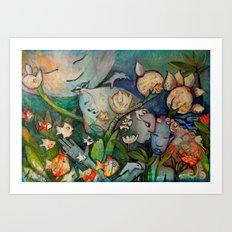 SINFONIA Art Print
