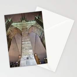 The bridge. Stationery Cards