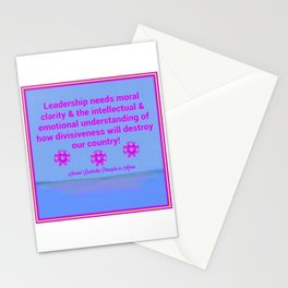 Moral Leadership Stationery Cards