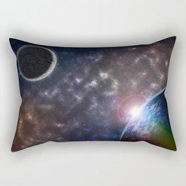 Burning Soul Rectangular Pillow