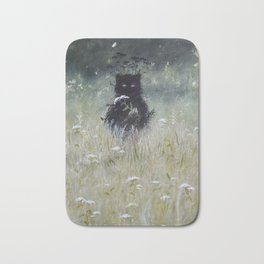 Nature Spirit - painting Bath Mat