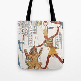 Vintage Egyptian gods artwork Tote Bag