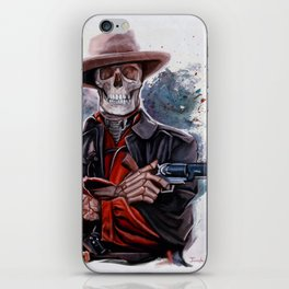 The Gunslinger - Dia De Los Muertos iPhone Skin