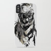 metal gear iPhone & iPod Cases featuring Metal Gear Solid V BS  by Hisham Al Riyami
