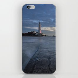 St Marys Lighthouse iPhone Skin