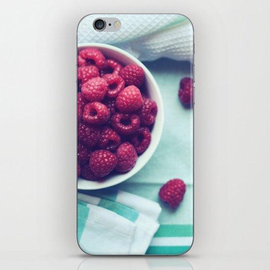 Pretty Goodness - Raspberry Still Life iPhone & iPod Skin