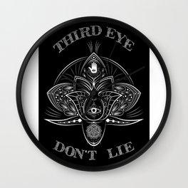 -Third Eye Don't Lie- Wall Clock