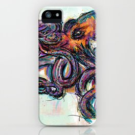 Octo Lines iPhone Case