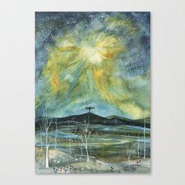 O Nata Lux Canvas Print