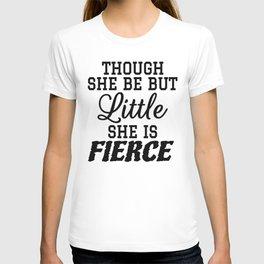 Little & Fierce T-shirt