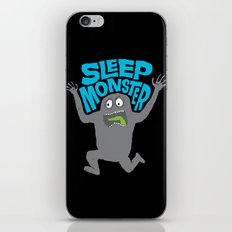 Sleep Monster iPhone & iPod Skin