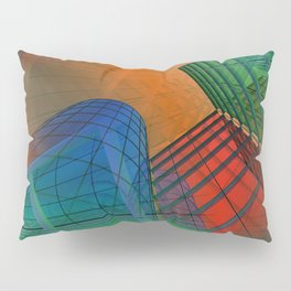 city pattern -3- Pillow Sham