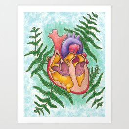 Sweetheart 2 Art Print