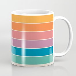 Boca Spring Stripes Coffee Mug