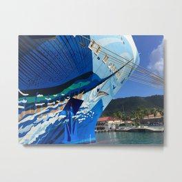 Norwegian Cruise Swordfish Metal Print