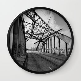 Sixth Street Viaduct Bridge - LA 02/30/2016 Wall Clock