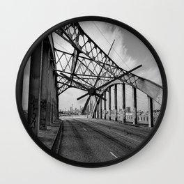 Sixth Street Viaduct Bridge - LA 02/30/2016 Wall Clock