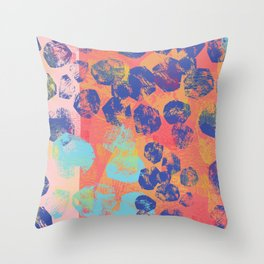 boulders2 Throw Pillow