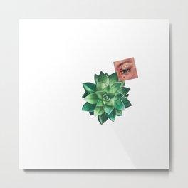 Eye See Green Metal Print
