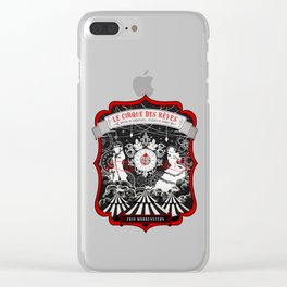The Night Circus Clear iPhone Case