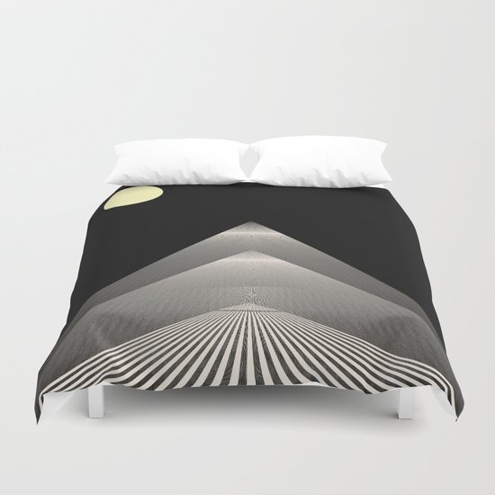 Pathway to Enlightenment Duvet Cover