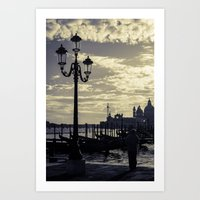 venice Art Prints featuring Venice. by Michelle McConnell