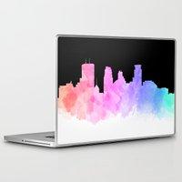 minneapolis Laptop & iPad Skins featuring Minneapolis by Emily Brady