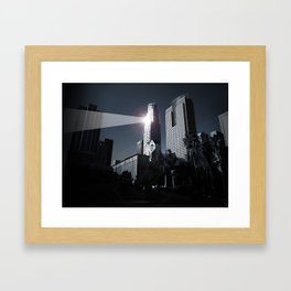 Dooms day LA Framed Art Print