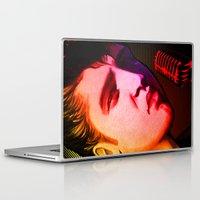 elvis presley Laptop & iPad Skins featuring Elvis Presley- Pop art by sarvesh