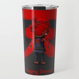 Raging Demon Travel Mug