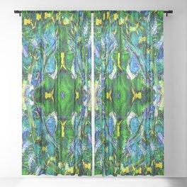 Vintage Illusions... Sheer Curtain