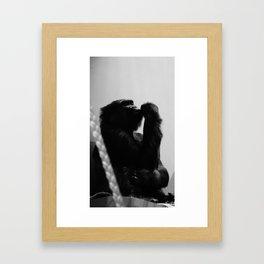 hard time Framed Art Print