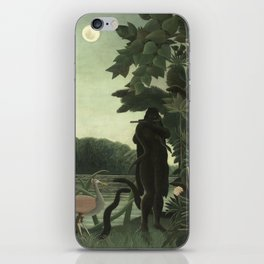 Henri Rousseau - The Snake Charmer iPhone Skin