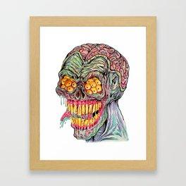 Demon Brain Framed Art Print