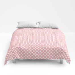 Polka Dots Pattern-Pink Comforters