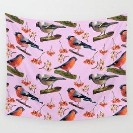 Bullfinches Wall Tapestry
