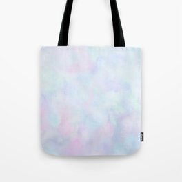 Rainbow Unicorn Pastel Fluffiness Tote Bag