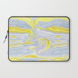 Spring soft serve marble Laptop Sleeve