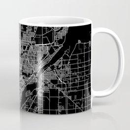 Toledo map ohio Coffee Mug
