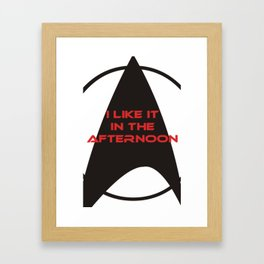 Mounting Sex in the Afternoon Zone Framed Art Print