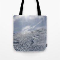 alaska Tote Bags featuring Alaska by Chris Root