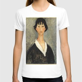 """Amedeo Modigliani """"Young Woman with Black Hair"""" T-shirt"""