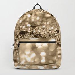 Champagne Gold Lady Glitter #1 #shiny #decor #art #society6 Backpack